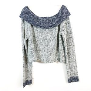 ANTHROPOLOGIE | Saturday Sunday Cowl Neck Sweater
